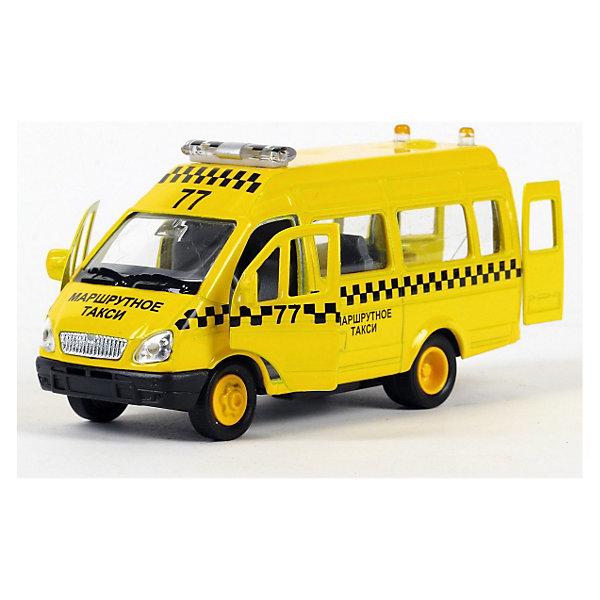 Купить ТЕХНОПАРК Машина Газель Такси 1:43 свет+звук, Китай, Мужской