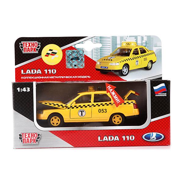 Купить ТЕХНОПАРК Машина lada 2110 Такси, свет+звук, Китай, Мужской