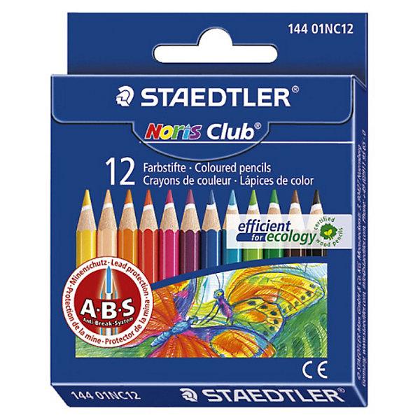 Купить Staedtler Карандаши цветные NorisClub144, 12 цв., Германия, Унисекс
