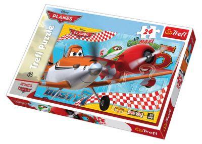 Пазлы Макси-Полет друзей, 24 элемента, артикул:3306055 - Самолеты