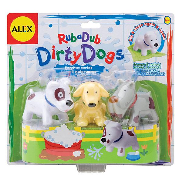 ALEX Игрушка для ванной Вымой щенка, меняет цвет игрушка для ванной alex alex игрушка для ванной черепашка