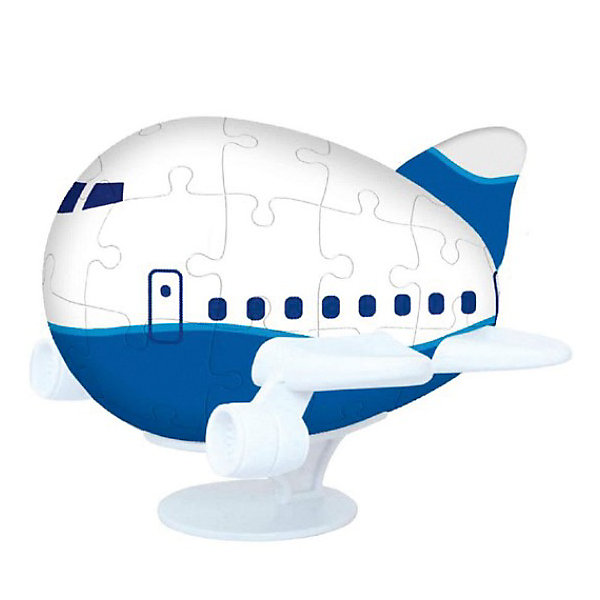 Pintoo Пазл 3D Аэроплан, 40 деталей, Pintoo pintoo пазл на подставке сладкая деревня 80 деталей