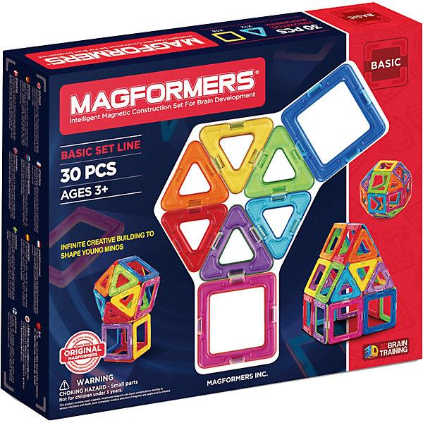 MAGFORMERS Магнитный конструктор, 30 деталей, MAGFORMERS