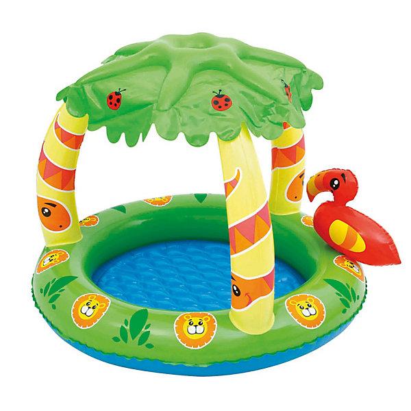 """Фотография товара детский надувной бассейн """"Джунгли"""", Bestway (3340158)"""