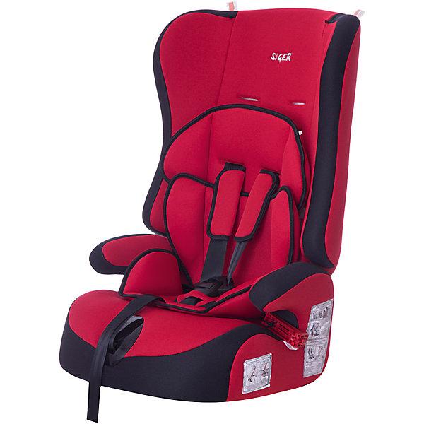 Фотография товара автокресло Siger Прайм, 9-36 кг, красный (3340350)