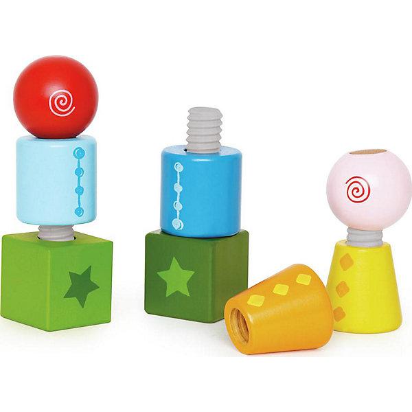 Hape Развивающая игрушка Hape Закручивающиеся кубики
