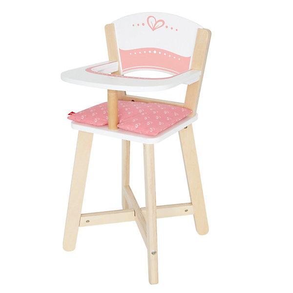 Hape Стульчик для кормления кукол Hape стульчик для кукол огонек белые с 1389