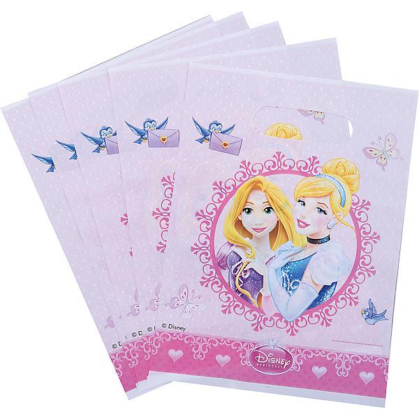 Procos Подарочные пакетики Принцессы Дисней - Сказочный мир, 6 шт соломка для напитков procos 82658 принцессы дисней