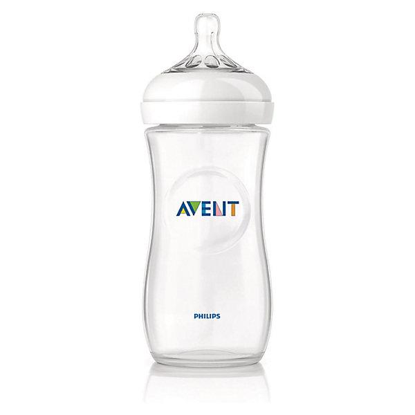 PHILIPS AVENT Бутылочка для кормления Natural, 330 мл, средний поток, от 3 мес., AVENT