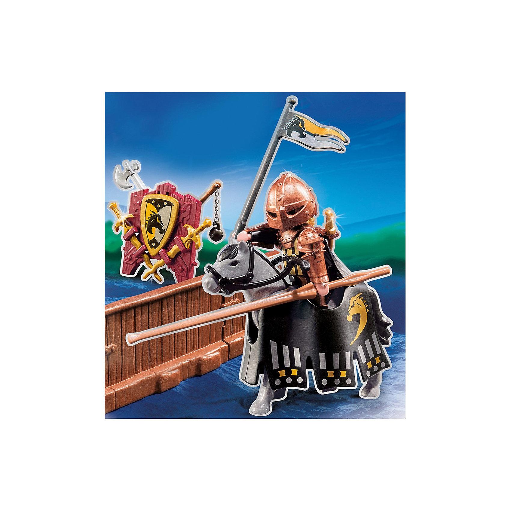 PLAYMOBIL 5357 Рыцари: Турнир рыцаря ордена Дикого скакуна