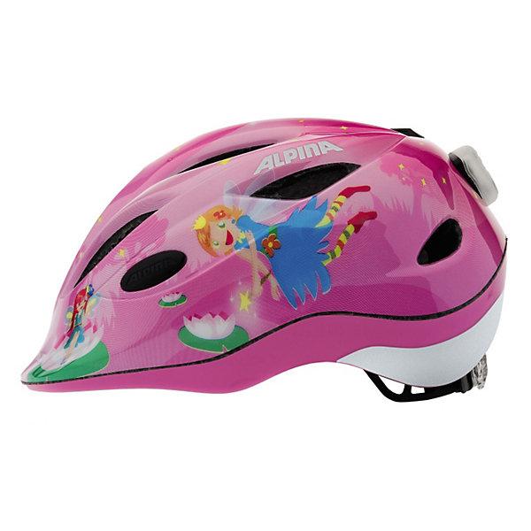 Купить летний шлем ALPINA Gamma 2.0 Flash little princess (3359328) в Москве, в Спб и в России