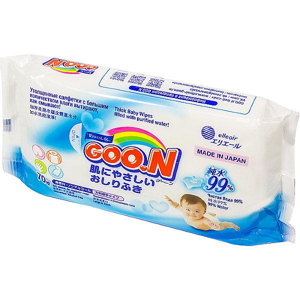 Влажные детские салфетки Goon, 70 шт.
