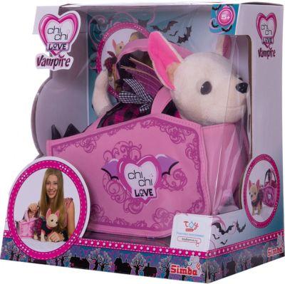 Плюшевая собачка  Вампирчик , Chi Chi Love, артикул:3373371 - Мягкие игрушки