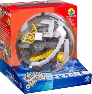 Головоломка Perplexus Rookie, 70 барьеров, Spin Master (цвет серо-белый), артикул:3375360 - Головоломки
