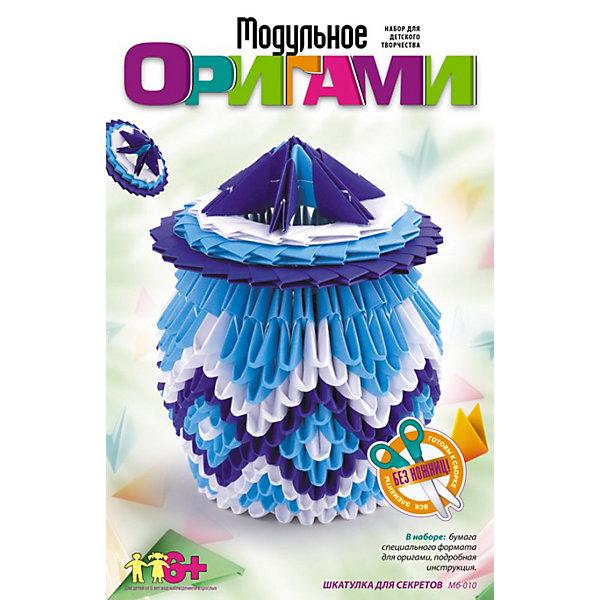 LORI Модульное оригами Шкатулка для секретов, LORI тихова г модульное оригами
