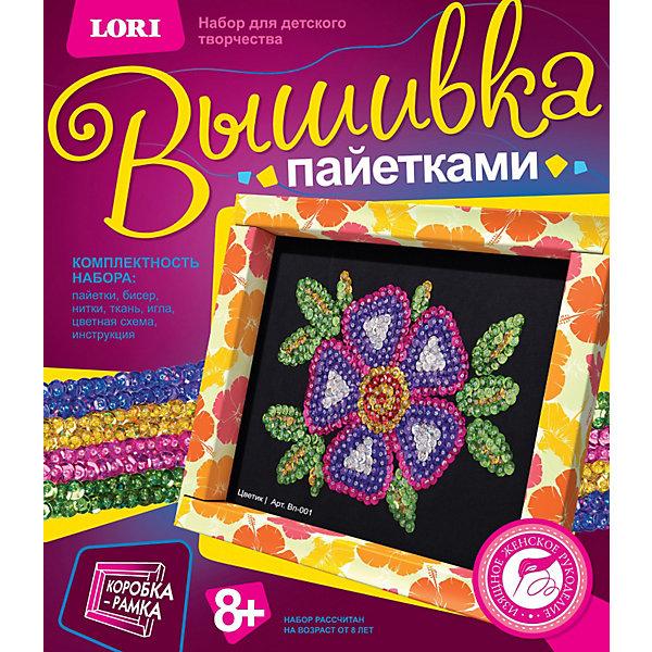 """Фотография товара вышивка пайетками """"Цветик"""", LORI (3376802)"""