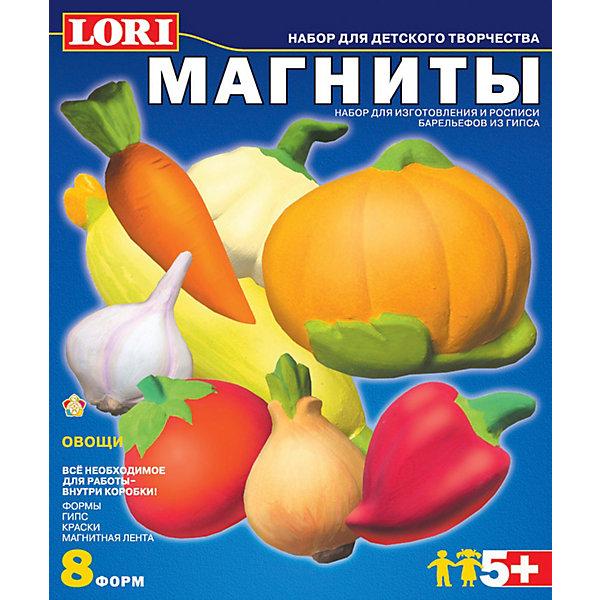 Купить Фигурки на магнитах Овощи , LORI, Россия, Унисекс