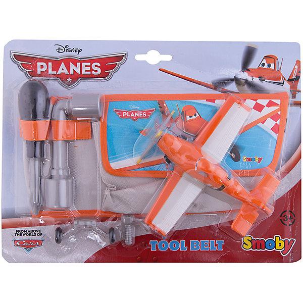 Smoby Сумочка на пояс с инструментами + Дасти, Самолеты игровой набор smoby инструменты тележка с инструментами тачки