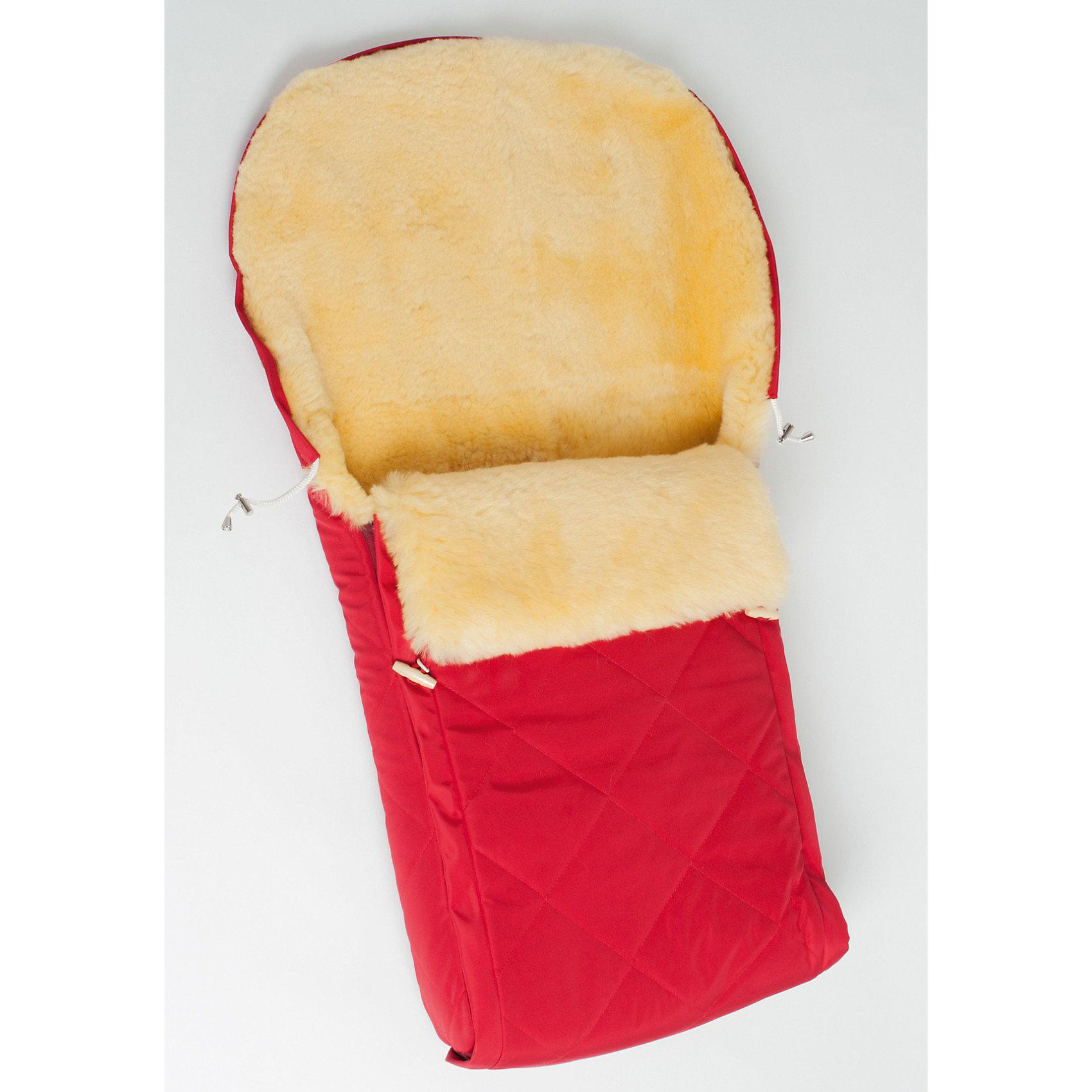 Конверт в коляску Classica, 0-36 мес., Ramili, красный