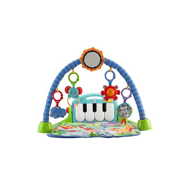 Mattel Развивающий игровой коврик Fisher-Price Пианино fisherprice развивающий коврик пианино