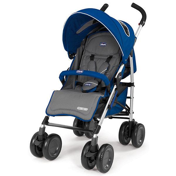 CHICCO Коляска-трость Chicco Multiway Evo Blue коляска 2 в 1 chicco trio stylego red passion