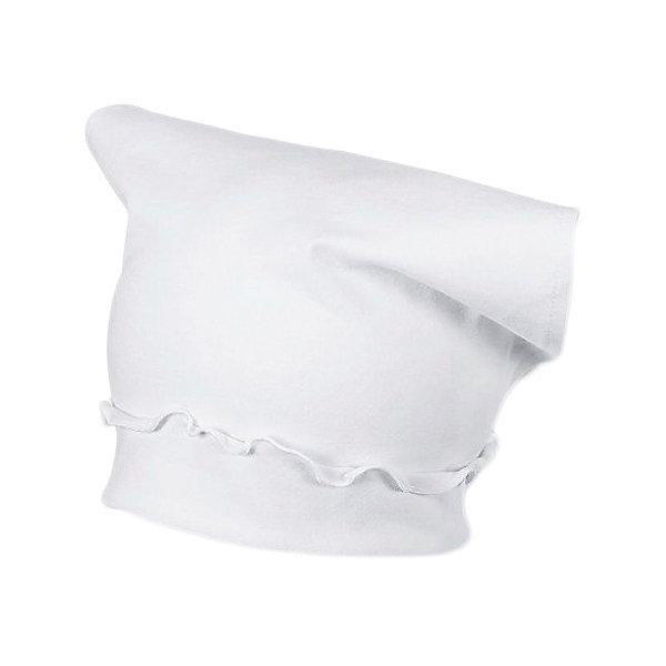 Шапка Sterntaler для девочкиШапочки<br>Характеристики товара:<br><br>• состав ткани: 95% хлопок, 5% эластан<br>• сезон: лето<br>• страна бренда: Германия<br><br>Шапочка однотонного цвета изготовлена из качественной и дышащей ткани. Материал мягкий и приятный на ощупь, хорошо облегает и не сковывает. Украшена милыми оборками.