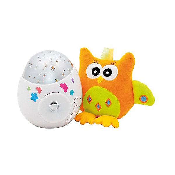 Фото - Roxy-Kids Проектор звездного неба Colibri с игрушкой сова, Roxy-Kids nb t718 4 проектор вешалка проектор крепление проектор вешалка регулируемая телескопически удлиненную длину 950 1500mm черный