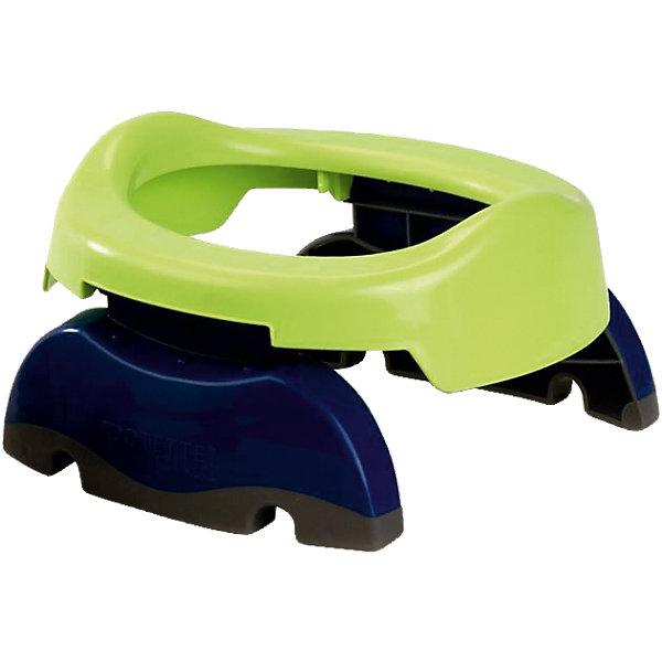 цены Potette Plus Дорожный горшок Potette Plus сине-зелёный