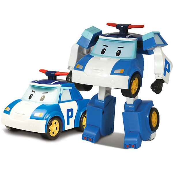 Silverlit Игрушка Поли трансформер, Робокар Поли silverlit игрушка эмбер на радиоуправлении 15см робокар поли