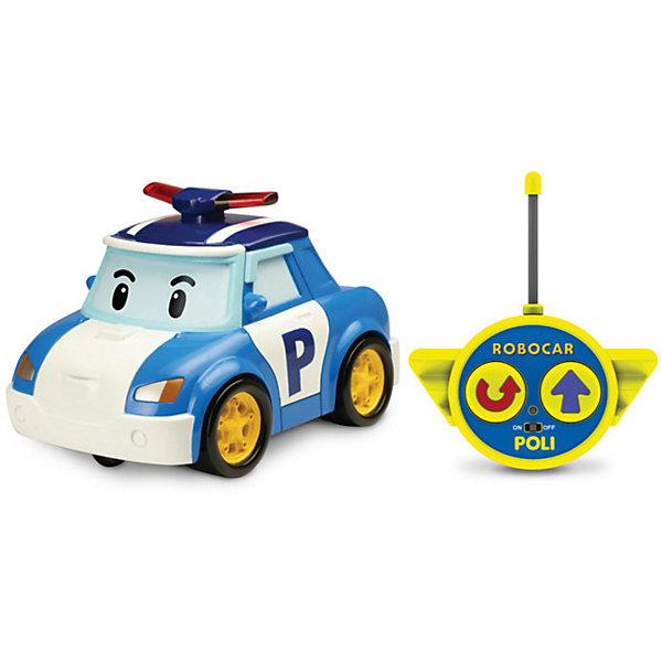 Silverlit Игрушка Поли на радиоуправлении, 15см, Робокар Поли silverlit игрушка эмбер на радиоуправлении 15см робокар поли