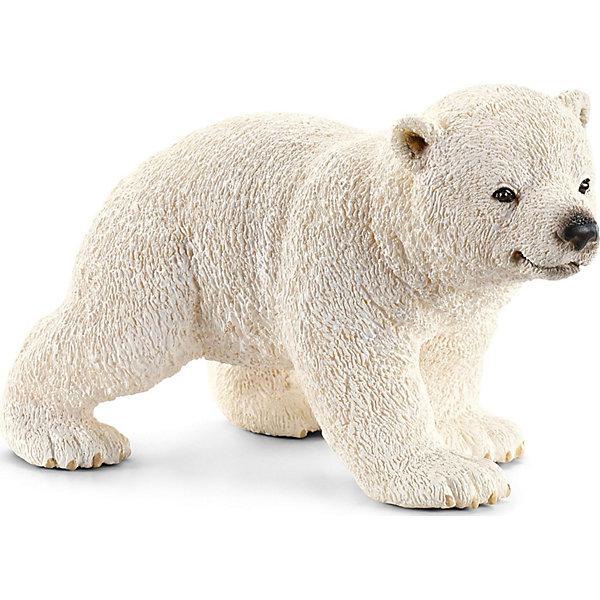 Schleich Белый медвежонок, Schleich schleich ослик schleich