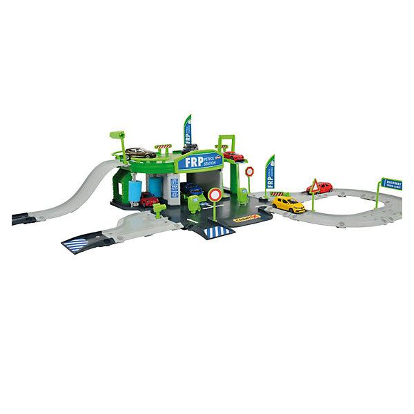 Majorette Заправочная станция CREATIX + 1 авто игровой набор dave toy заправочная станция с 1 машинкой