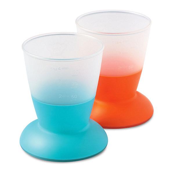 BabyBjorn Комплект из 2 кружек BabyBjorn, голубой/оранжевый