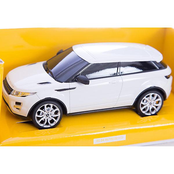 Машина RANGE ROVER EVOQUE, 1:24, на р/у, RASTARРадиоуправляемые машины<br>Машина RANGE ROVER EVOQUE на радиоуправлении, выполненная в масштабе 1:24.<br>Модель в точности копирует автомобиль Range Rover Evoque - компактный кроссовер, производимый британской компанией Land Rover. <br>Управлять игрушечной машиной легко, благодаря простому пульту управления (радиус до 45 метров). Автомобиль развивает скорость до 7 км/ч, имеет функции прямого и реверсивного хода, поворот направо и налево, оснащен светом задних и передних фар.<br><br>Управляемая машина - мечта мальчишек любого возраста!<br><br>Дополнительная информация:<br><br>- Пульт радиоуправления на частоте 27MHz.<br>- Материал: высококачественная пластмасса<br>- Размеры(ДхШхВ): 12 x 38 x 10 см<br>- Батарейки: 5 х АА, в комплект не входят.<br>- Вес: 530 г.<br><br>Машину RANGE ROVER EVOQUE, 1:24, на р/у, RASTAR можно купить в нашем интернет-магазине.<br>Ширина мм: 120; Глубина мм: 380; Высота мм: 100; Вес г: 530; Возраст от месяцев: 36; Возраст до месяцев: 1188; Пол: Мужской; Возраст: Детский; SKU: 3482929;