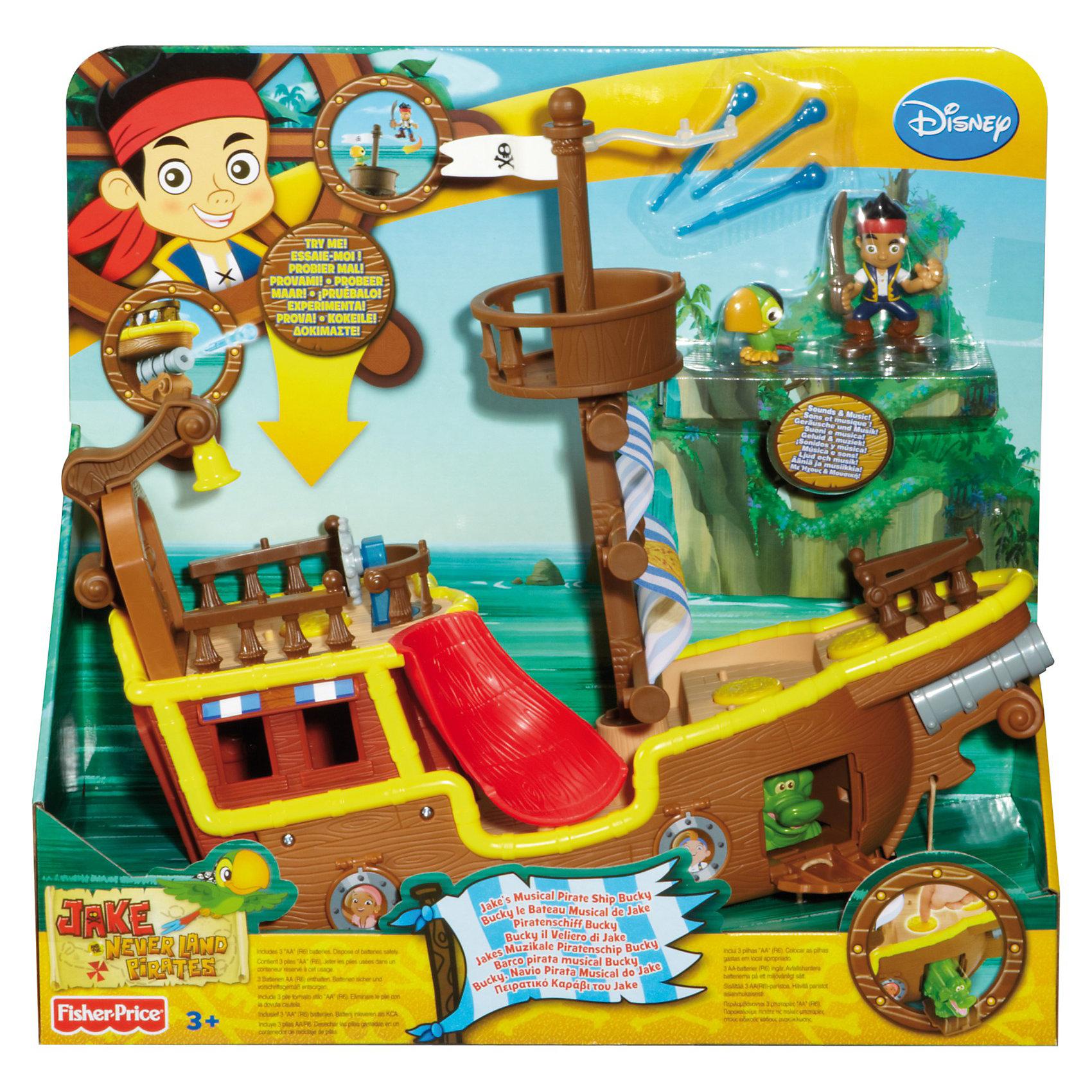 Пиратский корабль Бакки, Джейк и пираты Нетландии