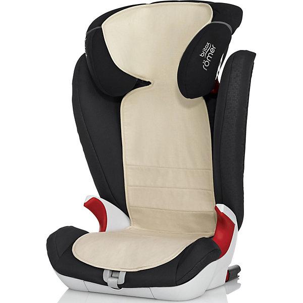 Чехол для детского автомобильного сидения KEEP COOL группа 1,1-2-3, 2-3, Britax R?merАксессуары для автокресел<br>Материал OUTLAST содержит микрогранулы с веществом схожим по свойствам с парафином. Нагреваясь, содержимое микрогранул поглощает излишки тепла, меняя свое состояние и поддерживая комфортную температуру тела ребенка даже в очень жаркий день.<br>Технология: Материал OUTLAST была придуман для защиты тела космонавтов от колебаний температуры в скафандре. Сегодня эта технология получила широкое распространение в обуви, одежде и медицинских изделиях. Чехол Keep Cool идеально подходит сразу для 3 групп автокресел: Группа 1, Группа 2-3, Группа 1-2-3.<br>Совместим с креслами Romer: KING Plus, VERSAFIX,KING II LS, KING II ATS, KING II , TRIFIX, EVOLVA 123 Plus, KIDFIX, KIDFIX XP SICT,  KIDFIX XP, KIDFIX SL, KIDFIX SL SICT, KID II<br>Ширина мм: 260; Глубина мм: 380; Высота мм: 35; Вес г: 272; Возраст от месяцев: 0; Возраст до месяцев: 144; Пол: Унисекс; Возраст: Детский; SKU: 3500172;