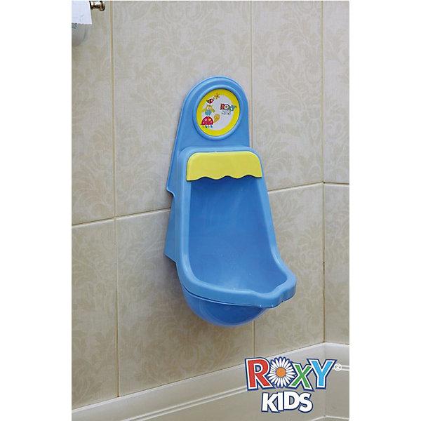 Детский писсуар на присоске ROXY-KIDSДетские горшки и писсуары<br>Детский писсуар на присоске ROXY-KIDS (РОКСИ-КИДС) - это симпатичный писсуар, который поможет маленькому мальчику писать стоя.<br><br>Особенности:<br>-Небольшие размеры писсуара позволяют повесить его в любой ванной комнате<br>-Писсуар надежно крепится к стенке ванной комнаты благодаря специальной присоске, чтобы повесить его, не надо сверлить  стену<br>-Он состоит из двух частей: съемной чаши и крепления к стене <br>-Съемная часть писсуара снабжена удобной ручкой, которая позволяет снять чашу для того, чтобы очистить ее <br><br>Дополнительная информация:<br><br>-Размеры: 21х35 см <br>-Материал: высококачественный легкий и прочный пластик<br><br>ВНИМАНИЕ! Данный артикул имеется в наличии в разных цветовых исполнениях (белого и голубого цвета). К сожалению, заранее выбрать определенный цвет невозможно.<br>Писсуар для мальчиков удовлетворяет интерес малышей подражания родителям Делай как взрослый.<br><br>Детский писсуар на присоске ROXY-KIDS (РОКСИ-КИДС) можно купить в нашем магазине.<br>Ширина мм: 360; Глубина мм: 210; Высота мм: 300; Вес г: 450; Возраст от месяцев: 12; Возраст до месяцев: 48; Пол: Мужской; Возраст: Детский; SKU: 3503620;