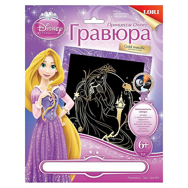 LORI Гравюра золото Рапунцель, Принцессы Дисней, LORI hasbro кукла рапунцель принцессы дисней