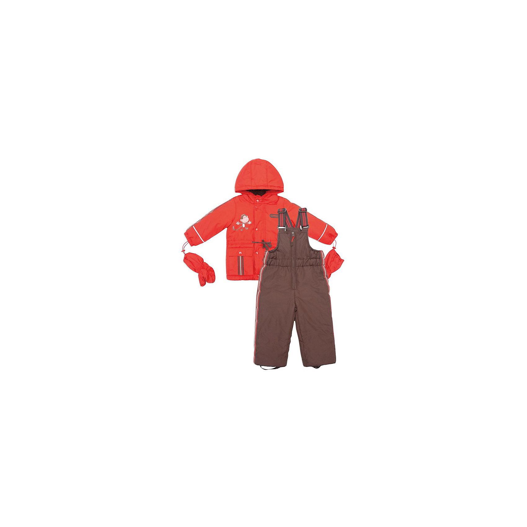 Комплект: куртка+полукомбинезон для мальчика PlayToday