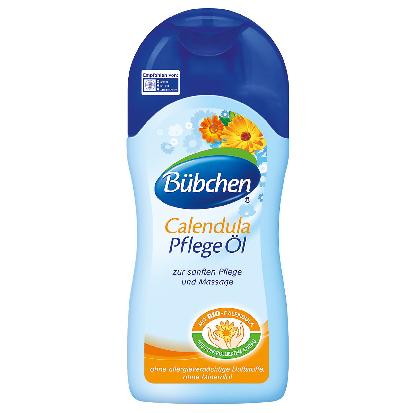 Масло для ухода за кожей Календула, BUBCHEN, 200 мл. (-)