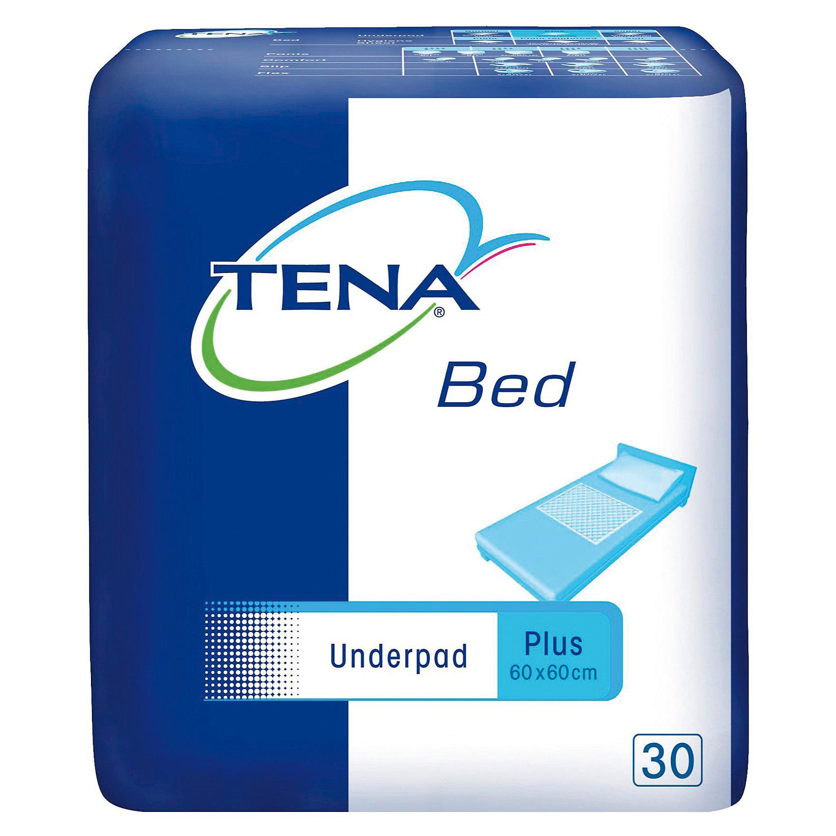 Одноразовые впитывающие простыни Tena Bed Underpad Normal 60х60 см., 30 шт (TENA)