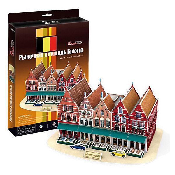 Пазл 3D Рыночная площадь Брюгге (Бельгия), CubicFun3D пазлы<br>Пазл 3D Рыночная площадь Брюгге (Бельгия), CubicFun (КубикФан) для создания Рыночной площади Брюгге - главной достопримечательности Бельгии. Здесь целый ряд красивых исторических зданий, среди которых Белфорт XII века. На площади множество разнообразных кафе и ресторанов, можно посидеть, отдохнуть, выпить чашечку кофе, и пойти осматривать город дальше.<br><br>3D пазл собирается без клея, путем скрепления деталей друг с другом. Детали модели пронумерованы, и останется только выдавить нужные детали из общего числа и скрепить их согласно схеме. Все пазлы CubicFun (КубикФан) разделяются по уровням сложности от 1 до 6. Данный пазл имеет 4 уровень сложности.<br>Игра с конструктором способствует развитию внимания, наблюдательности, логики и мелкой моторики рук.<br><br>Дополнительная информация:<br><br><br>-Комплектация: 45 шт. деталей, инструкция<br>-Материал: ламинированный пенокартон, который обклеен тонким слоем картона с обеих сторон<br>-Размер в собранном виде: 32,5х23,5х17,5см <br><br>Выберите несколько свободных часов и соберите с ребенком уникальный  Пазл 3D Рыночная площадь Брюгге (Бельгия). Вам будет действительно интересно, а вашему ребенку познавательно.<br><br>Пазл 3D Рыночная площадь Брюгге (Бельгия), CubicFun (КубикФан) можно купить в нашем магазине.<br>Ширина мм: 220; Глубина мм: 20; Высота мм: 330; Вес г: 619; Возраст от месяцев: 60; Возраст до месяцев: 144; Пол: Унисекс; Возраст: Детский; SKU: 3517830;