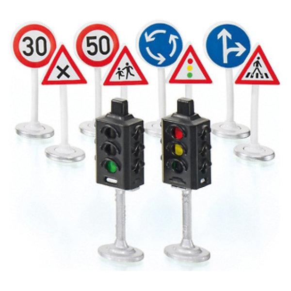SIKU SIKU 5597 SIKU WORLD Набор Светофоры и дорожные знаки игровой набор siku набор транспорта и дорожных знаков