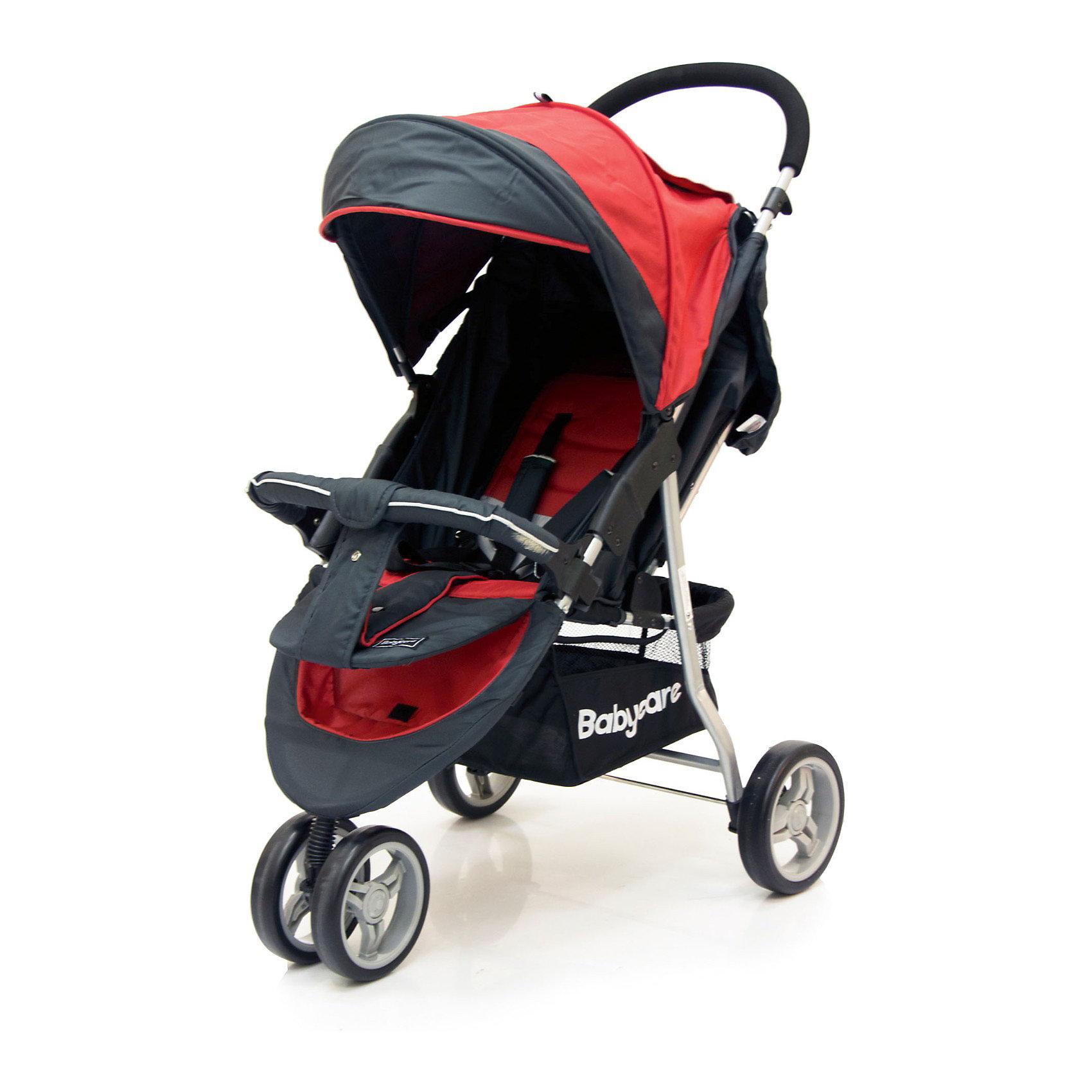 Прогулочная коляска Jogger Lite, Baby Care, красный