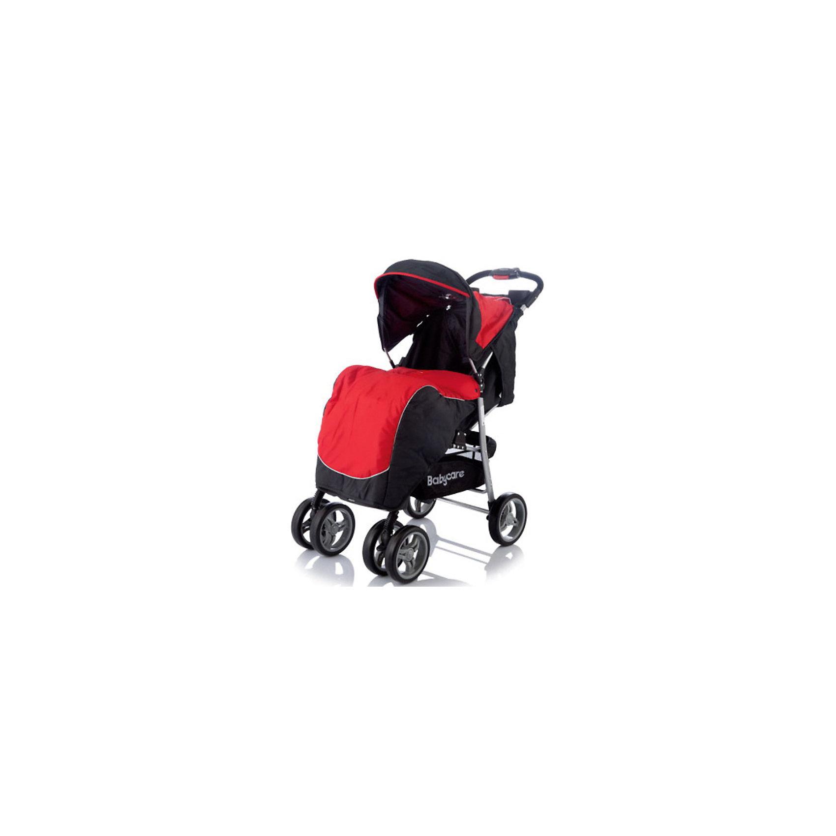 Прогулочная коляска Voyager, Baby Care, голубой