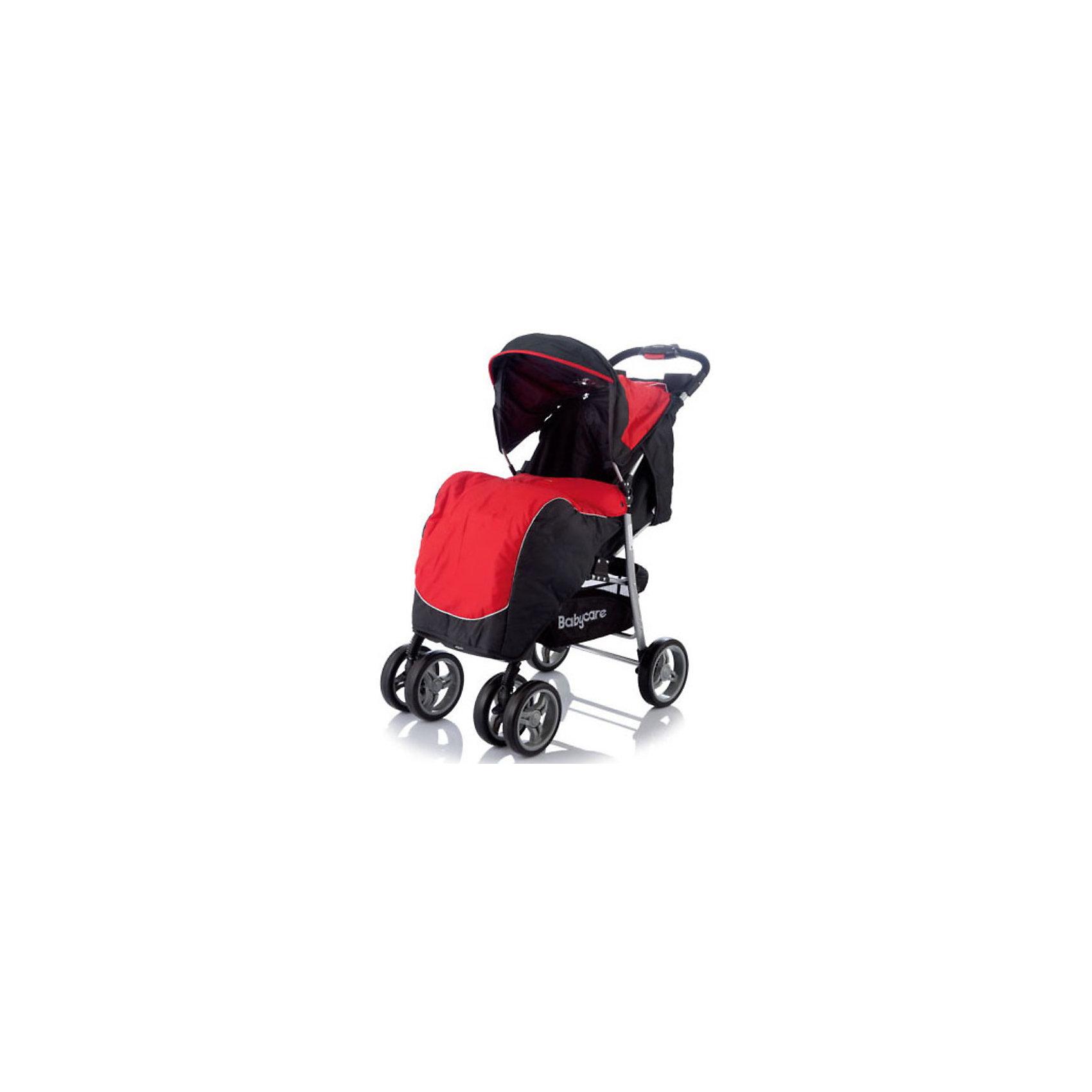 Прогулочная коляска Baby Care Voyager, красный