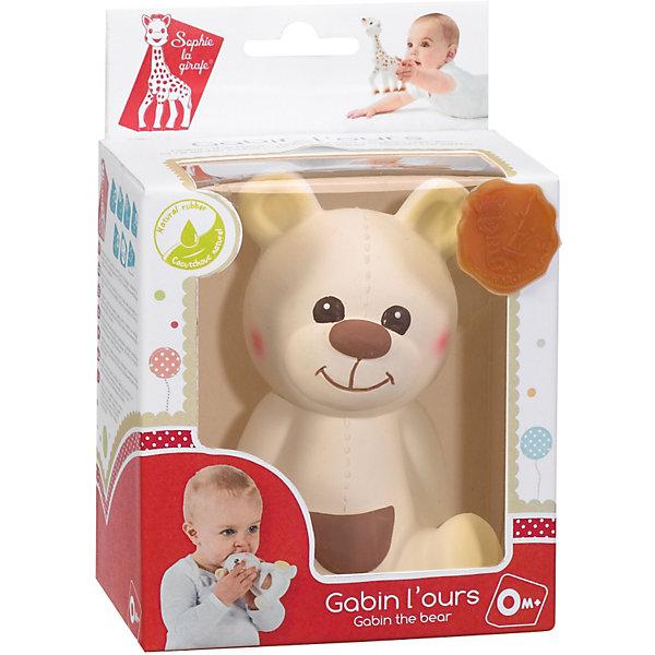 Развивающая игрушка Медвежонок Габэн, VulliРезиновые игрушки<br>Развивающая игрушка Медвежонок Габэн от французской компании Vulli (Вулли) - это уникальная игрушка-прорезыватель, которая разработана ведущими педиатрами Франции. Ее отличительная особенность в том, что она помогает снимать воспаление с десен малыша, когда у него режутся зубки. Поверхность игрушки выполнена на основе специальной технологии SOFT TOUCH улучшает тактильные ощущения, что очень важно в первые годы жизни младенца. Когда малютка нажмет на Медвежонка Габэн Vulli (Вулли), он произведет писк, который - способствует развитию слуха. Яркие контрастные краски, в которые выкрашены детали прорезывателя, развивают зрение малыша<br>натуральный аромат каучука стимулирует органы обоняния ребенка.<br><br>Дополнительная информация:<br><br>-  Игрушка изготовлена из натурального каучука<br>покрашена пищевой краской, абсолютно безопасной для ребенка;<br>- Игрушка имеет разные выпуклости, за которые малышу будет удобно ее держать и кусать; <br>- Если нажать на медвежонка, то он издаст писк;<br>- Размер игрушки 17 см;<br>- Вес: 108 г. <br><br>Развивающую игрушку Медвежонка Габэн, Vulli (Вулли) можно купить в нашем интернет-магазине.<br>Ширина мм: 120; Глубина мм: 80; Высота мм: 170; Вес г: 108; Возраст от месяцев: 0; Возраст до месяцев: 36; Пол: Унисекс; Возраст: Детский; SKU: 3548836;