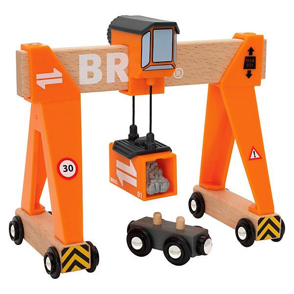 BRIO Игровой набор Brio Портовый кран игровой набор brio детская площадка 4 предмета
