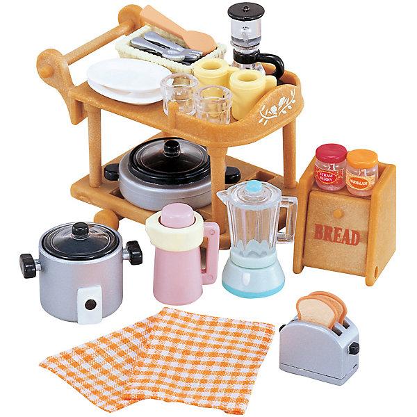 Epoch Traumwiesen Набор Кухонная посуда, Sylvanian Families