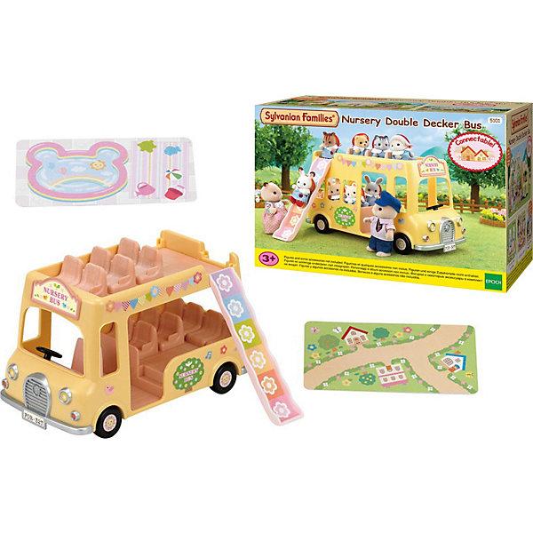 Купить Набор Двухэтажный автобус для малышей, Sylvanian Families, Эпоха Чудес, Китай, Женский